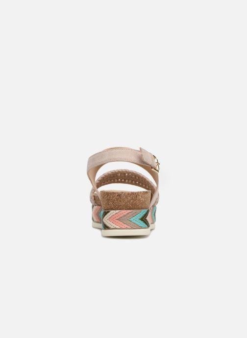 Sandaler Bullboxer RHONDA Beige Se fra højre