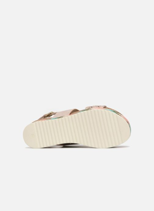 Sandales et nu-pieds Bullboxer RHONDA Beige vue haut