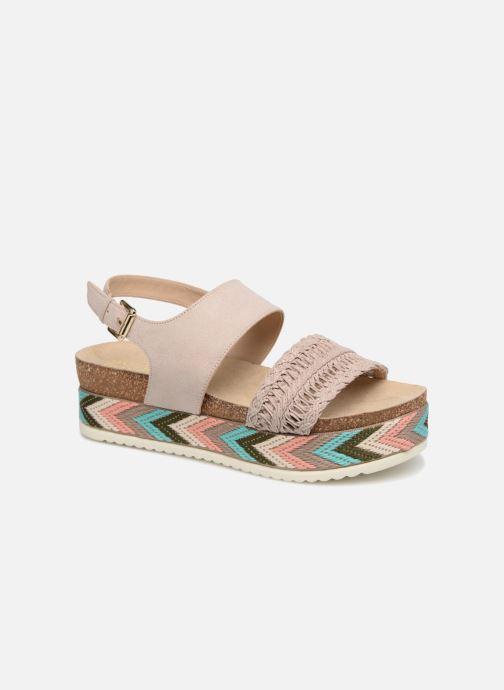 Sandales et nu-pieds Bullboxer RHONDA Beige vue détail/paire