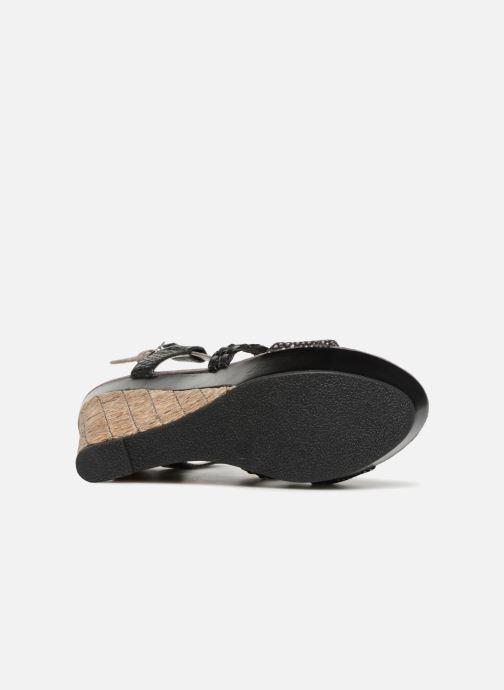 Sandales et nu-pieds Bullboxer SANDRA Noir vue haut