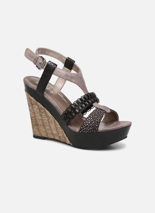 Sandales et nu-pieds Bullboxer SANDRA Noir vue détail/paire