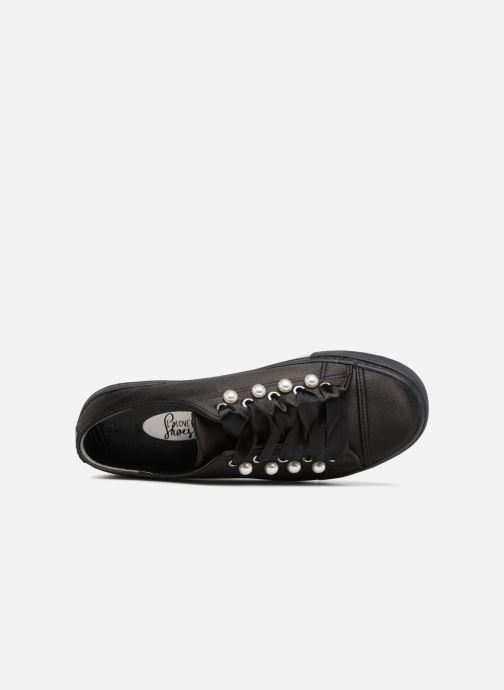Sneaker I Love Shoes Kipearl schwarz ansicht von links