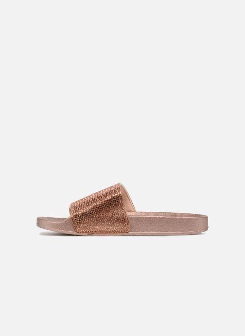 Mules et sabots I Love Shoes Kilma Or et bronze vue face