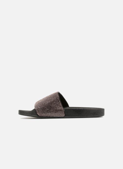 Zuecos I Love Shoes Kilma Negro vista de frente