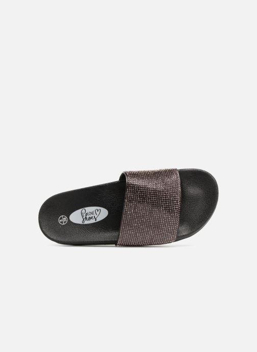Zuecos I Love Shoes Kilma Negro vista lateral izquierda