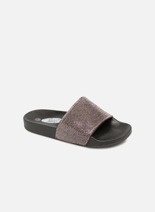 Mules et sabots I Love Shoes Kilma Noir vue détail/paire