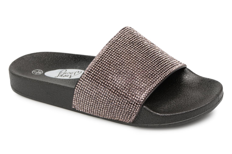 Sarenza Noir et Mules chez sabots I 317227 Love Shoes Kilma twqW4n1F8
