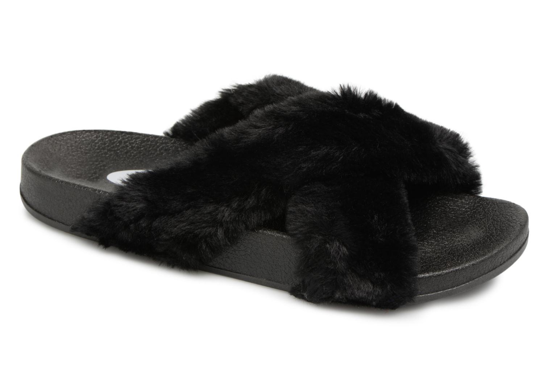 Mules et sabots I Love Shoes Kifcross Noir vue détail/paire