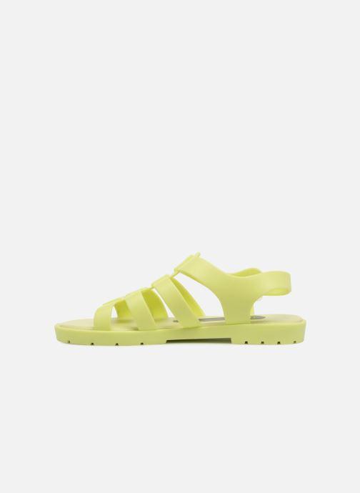 Sandales et nu-pieds SARENZA POP Kibeach - Sandale Jaune vue face
