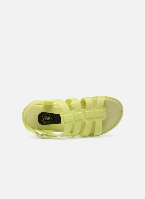 Sandales et nu-pieds SARENZA POP Kibeach - Sandale Jaune vue gauche