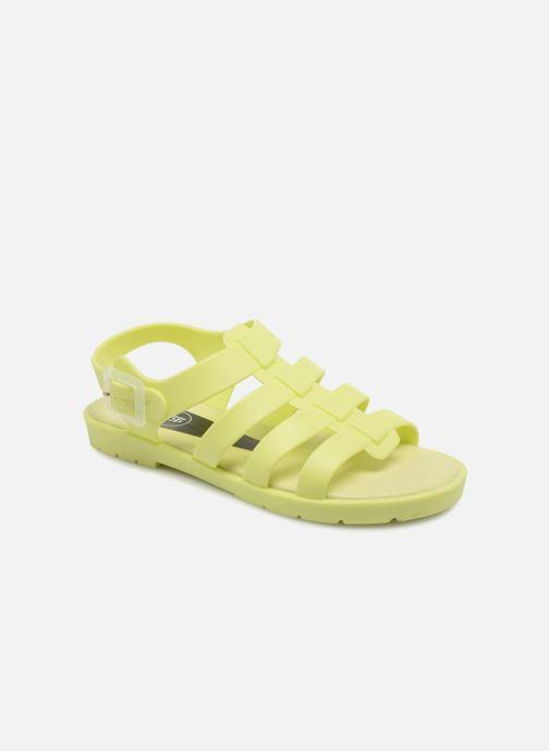 Sandales et nu-pieds SARENZA POP Kibeach - Sandale Jaune vue détail/paire