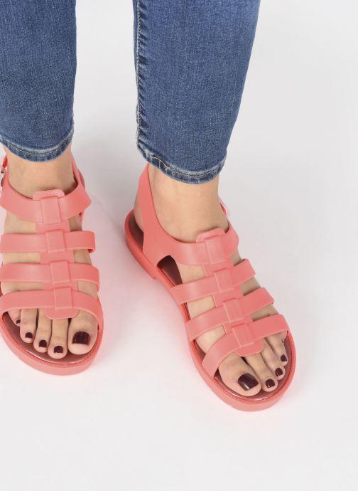 Sandales et nu-pieds SARENZA POP Kibeach - Sandale Orange vue bas / vue portée sac
