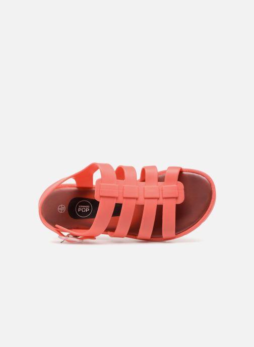 Sandales et nu-pieds SARENZA POP Kibeach - Sandale Orange vue gauche