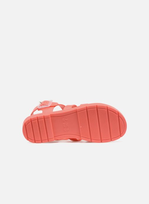 Sandales et nu-pieds SARENZA POP Kibeach - Sandale Orange vue haut