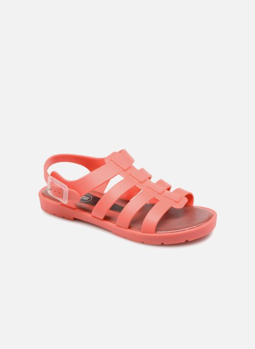 Sandales et nu-pieds SARENZA POP Kibeach - Sandale Orange vue détail/paire