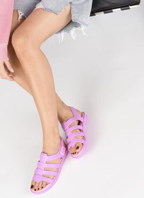 Sandales et nu-pieds SARENZA POP Kibeach - Sandale Rose vue bas / vue portée sac