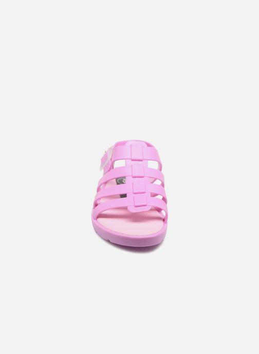 Sandales et nu-pieds SARENZA POP Kibeach - Sandale Rose vue portées chaussures