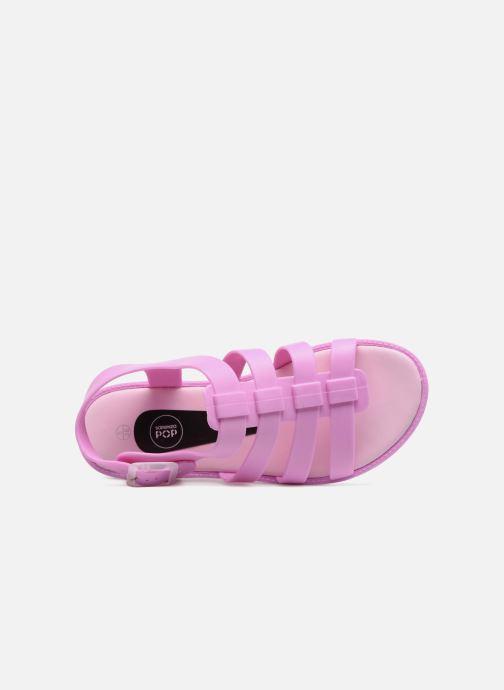 Sandaler SARENZA POP Kibeach - Sandale Pink se fra venstre