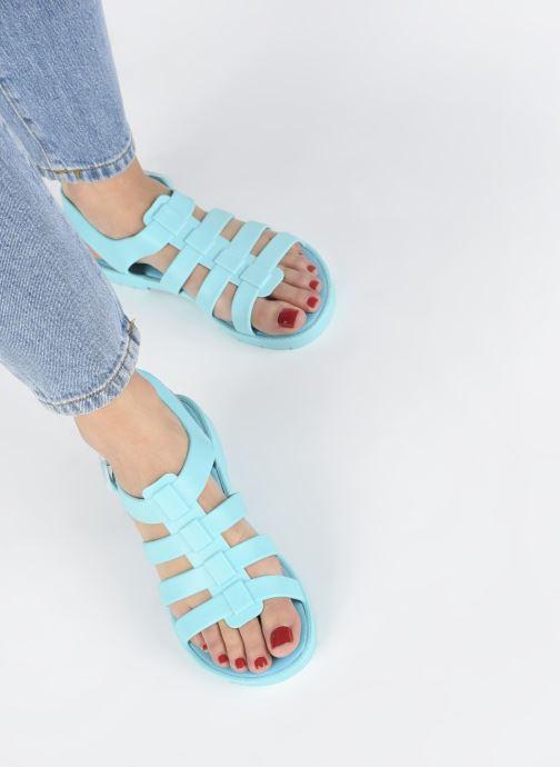 Sandales et nu-pieds SARENZA POP Kibeach - Sandale Bleu vue bas / vue portée sac