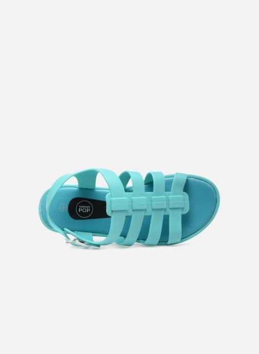 Sandales et nu-pieds SARENZA POP Kibeach - Sandale Bleu vue gauche
