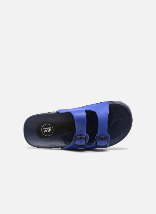 Sandales et nu-pieds SARENZA POP Kipot Bleu vue gauche