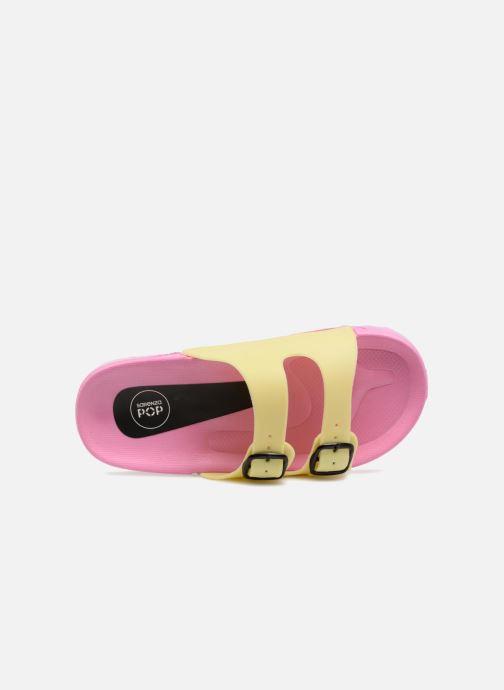 Sandales et nu-pieds SARENZA POP Kipot Rose vue gauche