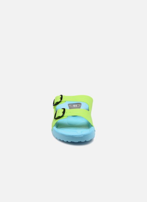 Sandales et nu-pieds SARENZA POP Kipot Bleu vue portées chaussures