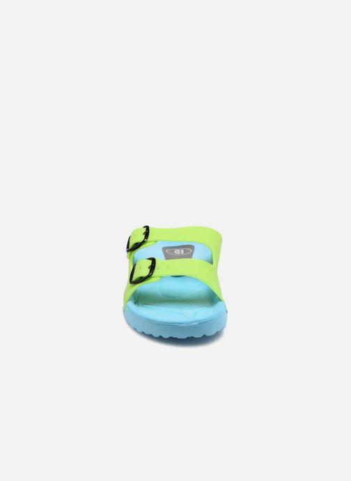 Sandali e scarpe aperte SARENZA POP Kipot Azzurro modello indossato