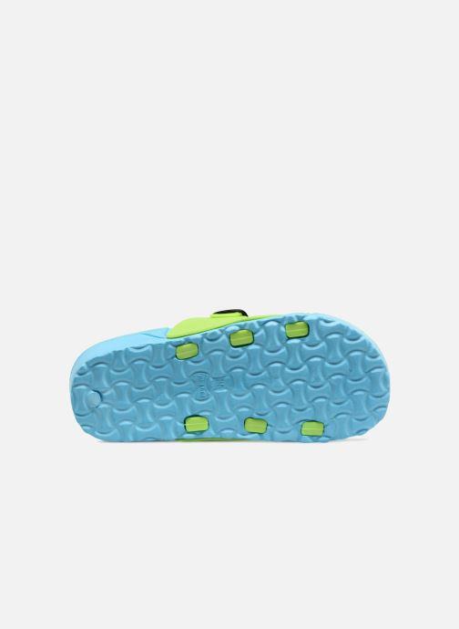 Sandales et nu-pieds SARENZA POP Kipot Bleu vue haut