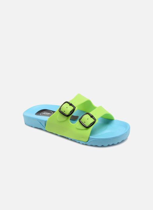 Sandales et nu-pieds SARENZA POP Kipot Bleu vue détail/paire