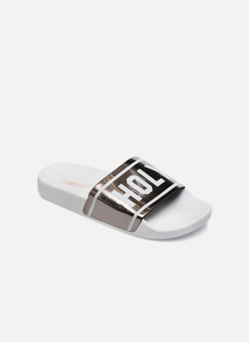 Wedges TheWhiteBrand HOLY BEACH Zilver detail