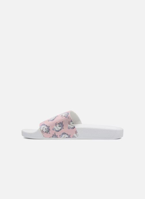 Wedges TheWhiteBrand UNICORNS Roze voorkant