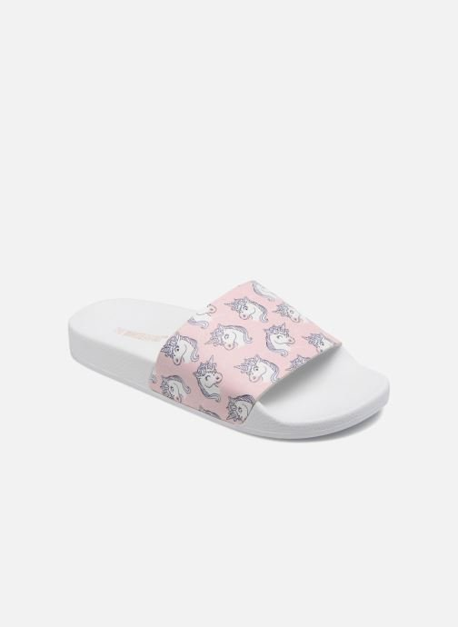 Wedges TheWhiteBrand UNICORNS Roze detail