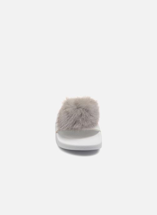 Wedges TheWhiteBrand POMPOM Wit model