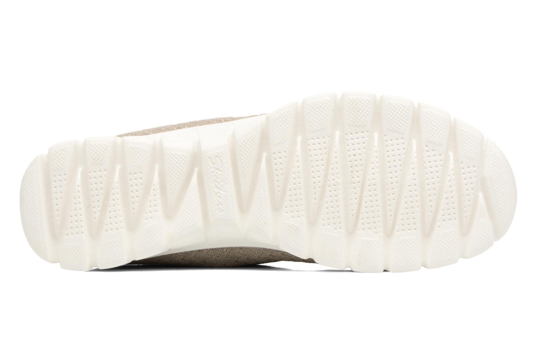 Chaussures de sport Skechers Ez Flex 3.0-Estrella Beige vue haut
