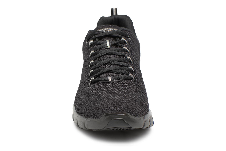 Sneakers Skechers Synergy-Safe & Sound Sort se skoene på