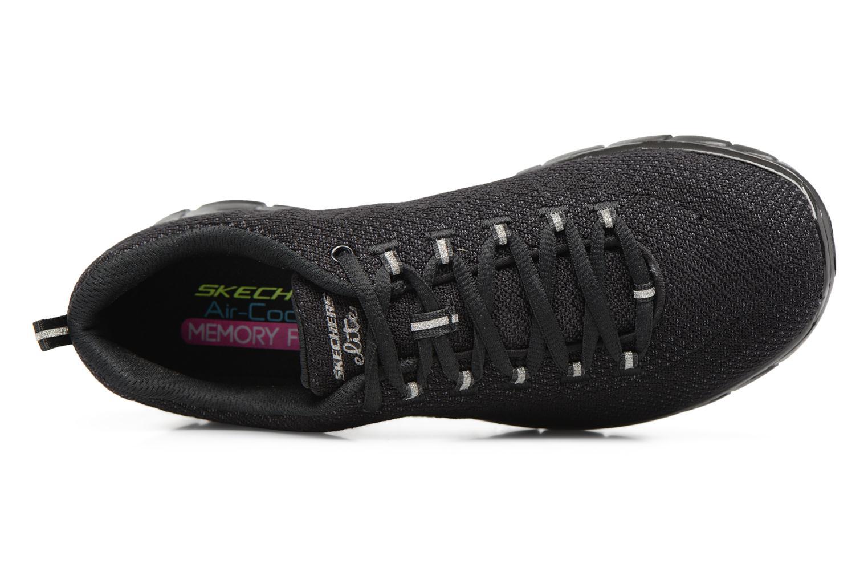 Sneakers Skechers Synergy-Safe & Sound Sort se fra venstre