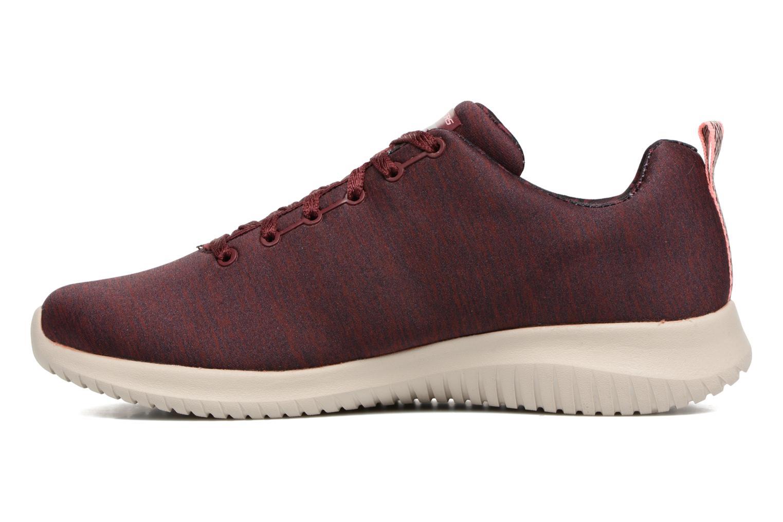 Chaussures de sport Skechers Ultra Flex-First Choice Bordeaux vue face