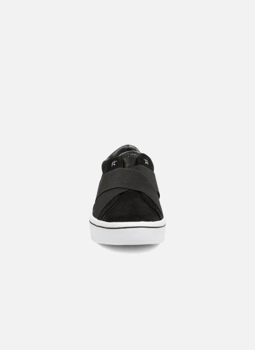 Sneaker Skechers Hi-Lite-Street Crossers schwarz schuhe getragen
