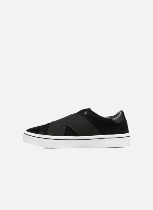 Sneaker Skechers Hi-Lite-Street Crossers schwarz ansicht von vorne