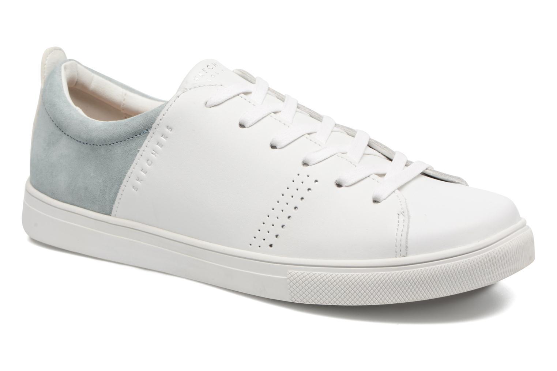 Skechers Moda-Clean Street (Blanc) - Baskets en Más cómodo Nouvelles chaussures pour hommes et femmes, remise limitée dans le temps