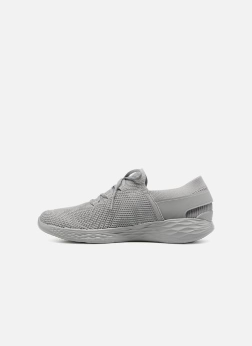 Trainers Skechers You-Spirit Grey front view