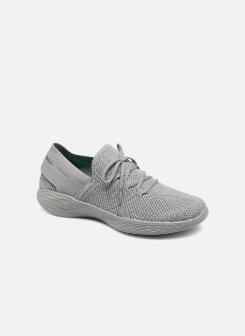 Trainers Skechers You-Spirit Grey detailed view/ Pair view