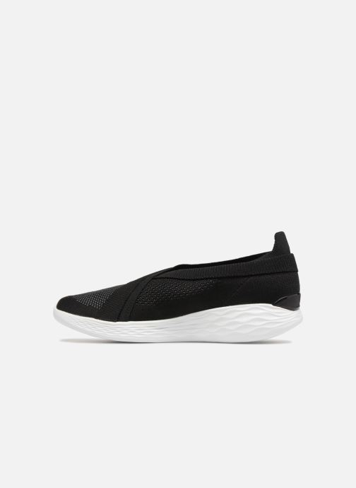 Trainers Skechers You-Luxe Black front view