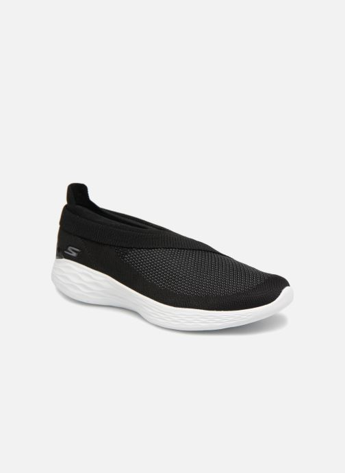 Trainers Skechers You-Luxe Black detailed view/ Pair view