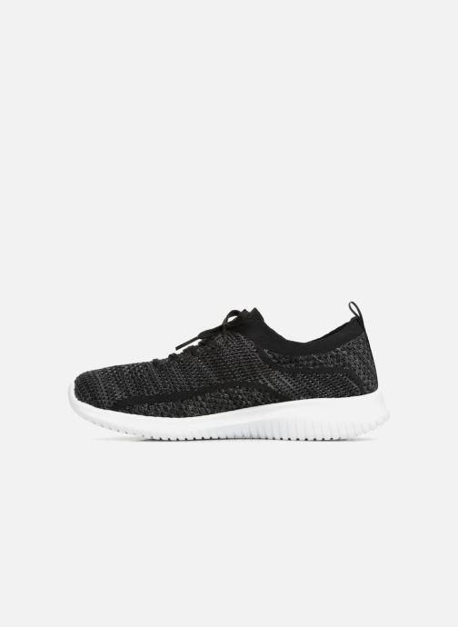 Zapatillas de deporte Skechers Ultra Flex-Statements Negro vista de frente