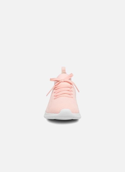 Sportschuhe Skechers Ultra Flex-Statements rosa schuhe getragen