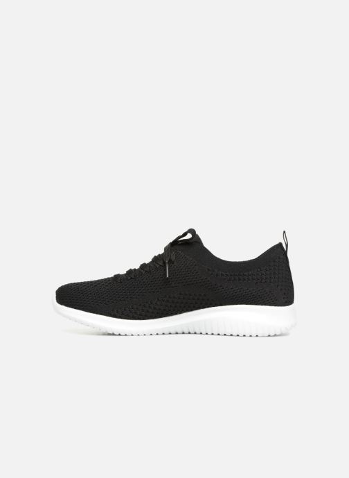 Chaussures de sport Skechers Ultra Flex-Statements Noir vue face