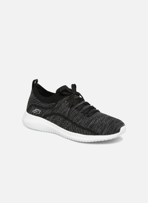 Sportssko Skechers Ultra Flex-Statements Grå detaljeret billede af skoene