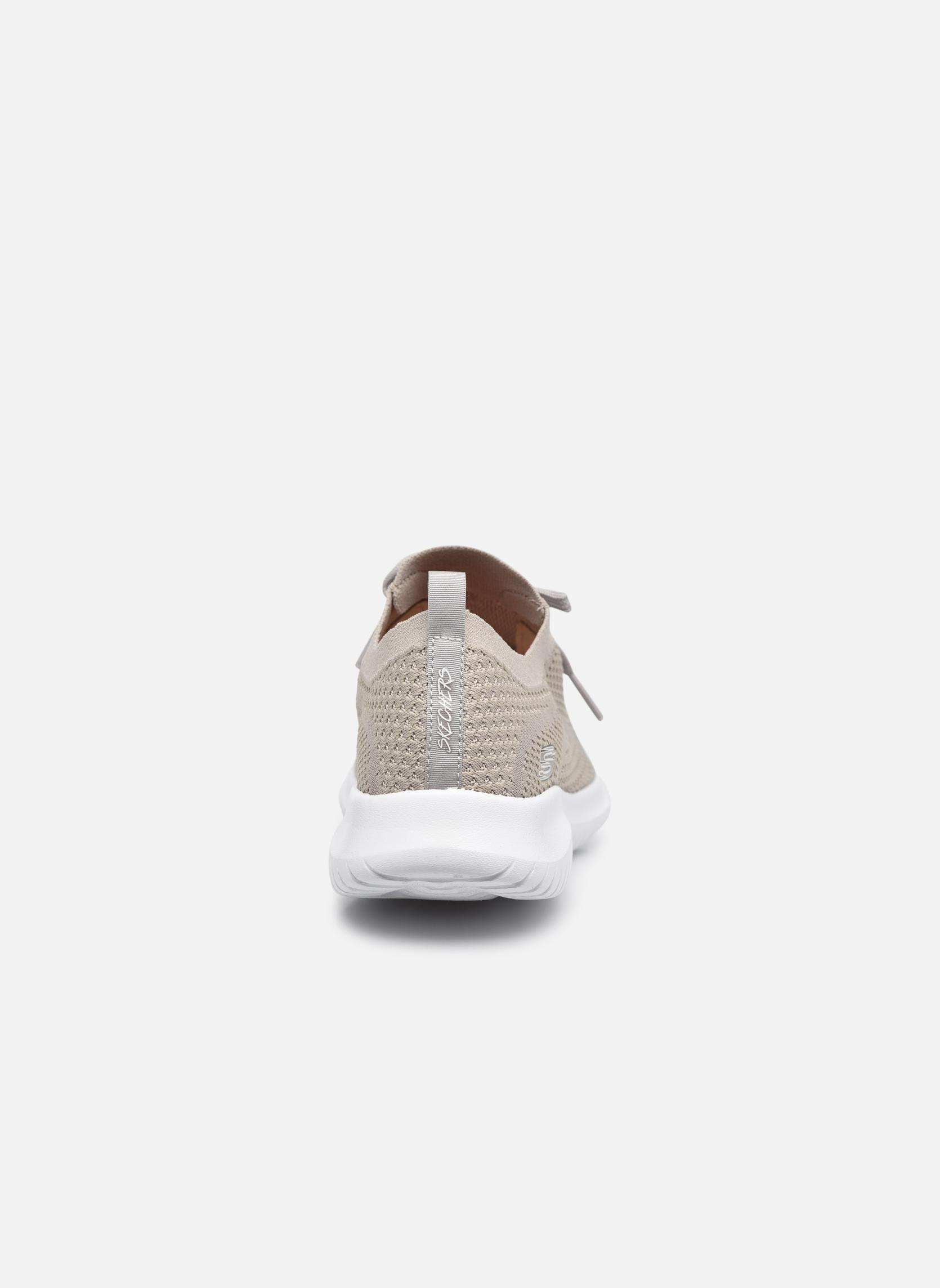 Chaussures de sport Skechers Ultra Flex-Statements Gris vue droite